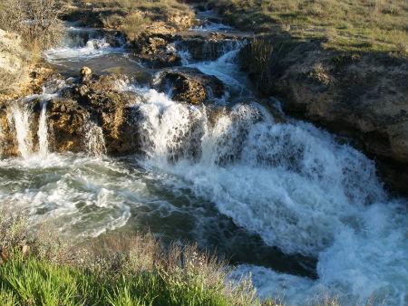 Lagunas de Ruidera :: Caminando hacia la Plaza de Toros