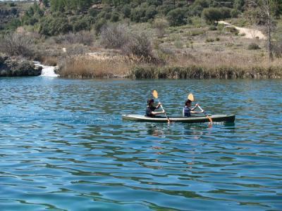 Actividades deportivas en las Lagunas de Ruidera