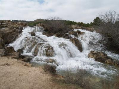 Cascada laguna Lengua - laguna Salvadora (Parte Alta)