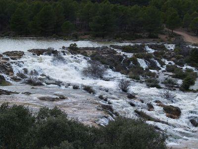 Aguas Bravas en las Lagunas de Ruidera