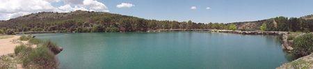 Panoráminca de la Laguna Lengua en Mayo
